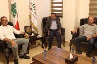 لقاء رئيس الإتحاد مع رئيس مصلحة الزراعة في محافظة النبطية