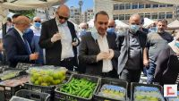 مشاركة رئيس اتحاد بلديات جبل عامل في افتتاح معرض سوق المزارع