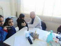 الكشف الصّحيّ السّنوي لطلاب مدرسة عديسة الرسمية