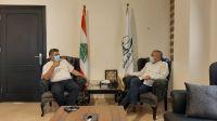 رئيس اتحاد بلديات جبل عامل استقبل رئيس محمية وادي الحجير