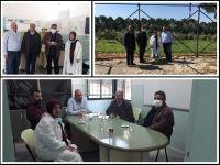 جولة رئيس الاتحاد ورئيس اللجنة الصحية على مستوصف دير سريان الصحي التابع لمؤسسات الامام الصدر