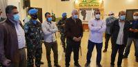 هبة من قوات اليونيفيل العاملة في جنوب لبنان عبارة عن تجهيزات لمواجهة تفشي وباء كورونا