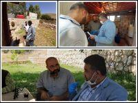 زيارة رئيس الاتحاد مركز الدفاع المدني في وادي السلوقي