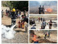 رئيس اتحاد بلديات جبل عامل اختتم دورة اطفاء في مركز وادي السلوقي