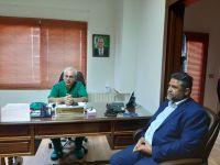 زيارة اتحاد بلديات جبل عامل مستشفى ميس الجبل الحكومي