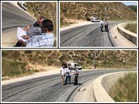 رىيس اتحاد بلديات جبل عامل تفقد طريق برج قلاويه - وادي الحجير