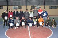 اختتام دورة التدريب العملية في لعبة كرة اليد بحضور رئيس الاتحاد