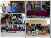 زيارة الإتحاد لمركز الدفاع المدني التابع لجمعية الرسالة للإسعاف الصحي في بلدة بني حيان
