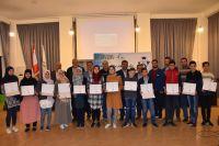 اتحاد بلديات جبل عامل كرّم طلاب نادي الروبوت