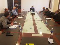 اجتماع خلية الازمة في اتحاد بلديات جبل عامل لمواجهة فيروس كورونا