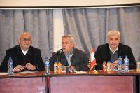 اجتماعات مشترك لمديرية العمل البلدي في حزب الله ومكتب الشؤون البلدية والاختيارية في حركة أمل في اتحاد بلديات جبل عامل وفي بلدية بنت جبيل.