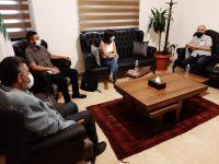 لقاء رئيس الإتحاد مع ممثلين عن اللجنة الدولية للصليب الأحمر / جنيف