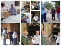 جولة بيطرية ارشادية على مربي الابقار في بلدة دير سريان