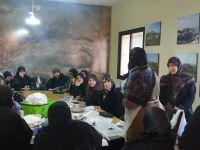 ورشة تدريب لتصنيع الالبان والاجبان في بلدة حولا