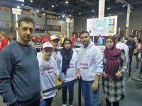 مشاركة فريق الروبوت في الاتحاد في بطولة الولمبياد العالمي للروبوت في هنغاريا
